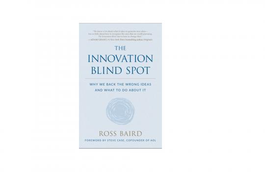 The innovation blind spot, il libro del mese secondo Oltre Venture