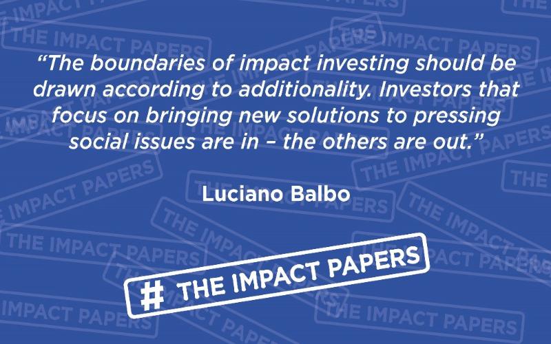 """Luciano Balbo inaugura la serie di articoli """"Impact Papers"""" su Pioneers Post"""