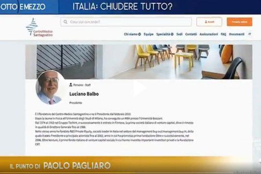 Luciano Balbo a Otto e Mezzo